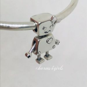 Authentic PANDORA Silver Bella Bot
